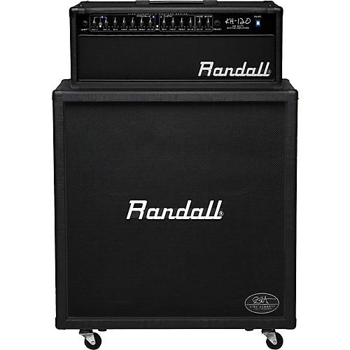 Randall Kirk Hammett Signature Series KH120RHS 120W 4x12 Guitar Half Stack Black