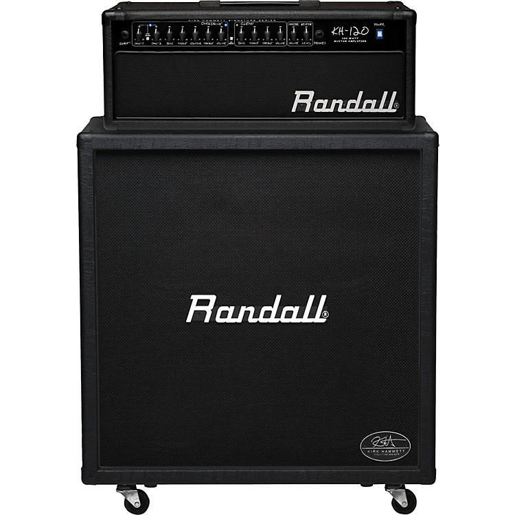 RandallKirk Hammett Signature Series KH120RHS 120W 4x12 Guitar Half StackBlack