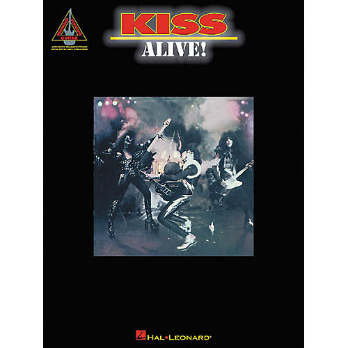 Hal Leonard Kiss Alive! Guitar Tab Songbook