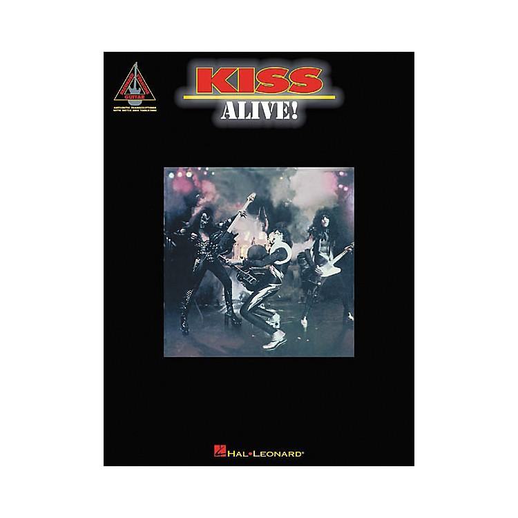 Hal LeonardKiss Alive! Guitar Tab Songbook