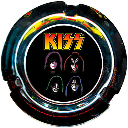 C&D Visionary Kiss Face Glass Ashtray-thumbnail