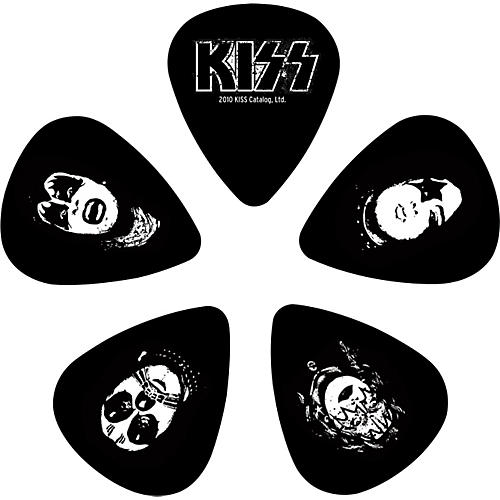 D'Addario Planet Waves Kiss Logo Guitar Picks 10 Pack
