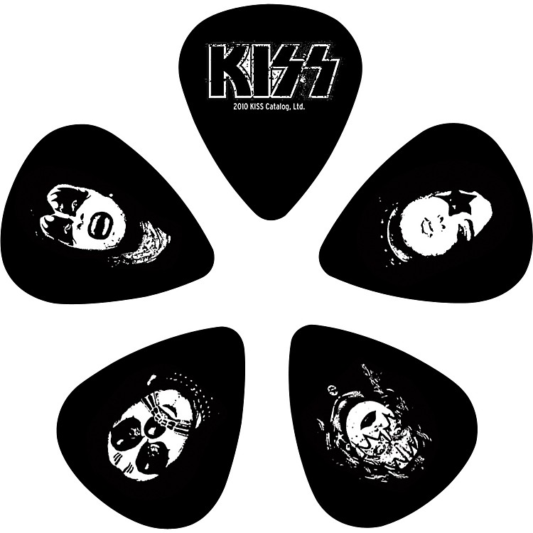 Planet Waves Kiss Logo Guitar Picks 10 Pack Light