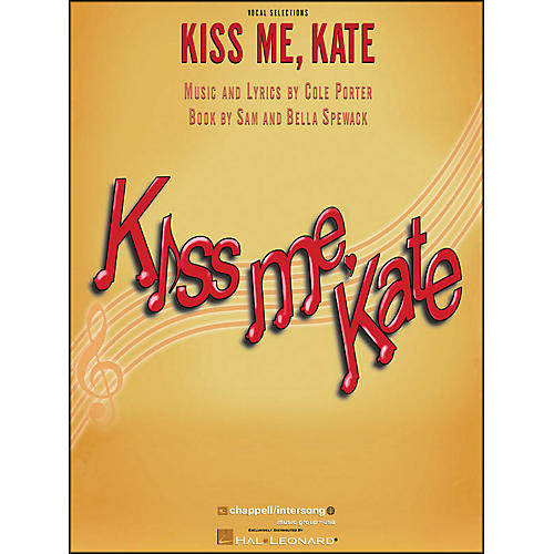 Hal Leonard Kiss Me Kate Vocal Selections arranged for piano, vocal, and guitar (P/V/G)-thumbnail
