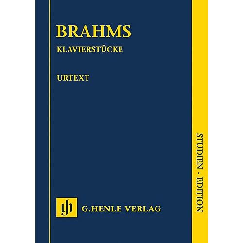 G. Henle Verlag Klavierstücke (Revised Edition) Henle Study Scores Series Softcover