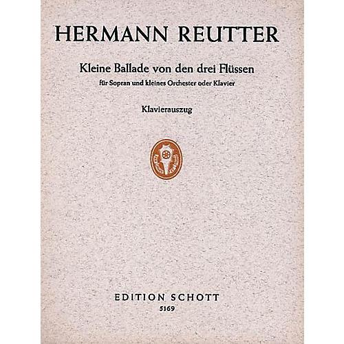 Schott Kleine Ballade Arr High Voice/pf Schott Series-thumbnail