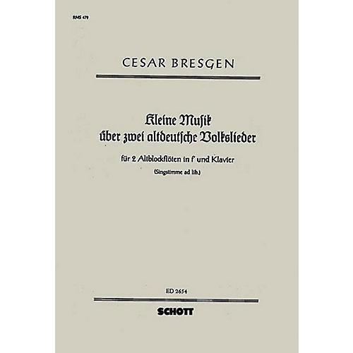 Schott Kleine Musik Schott Series by Cesar Bresgen-thumbnail