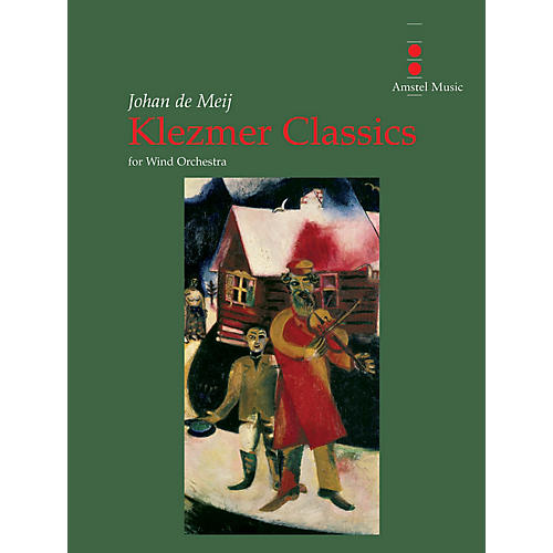 Amstel Music Klezmer Classics (for Wind Orchestra - Score and Parts) Concert Band Level 4-5 Composed by Johan de Meij-thumbnail