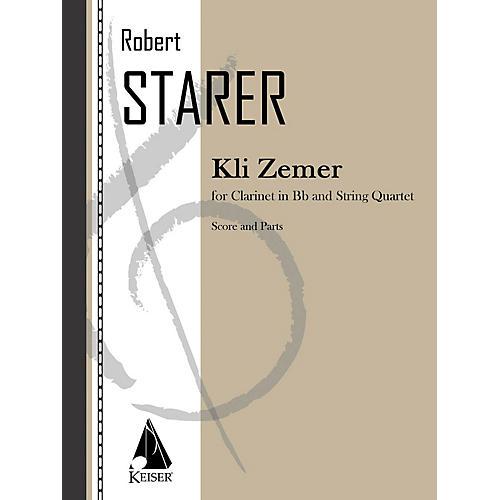 Lauren Keiser Music Publishing Kli Zemer (Concerto for Clarinet) LKM Music Series-thumbnail