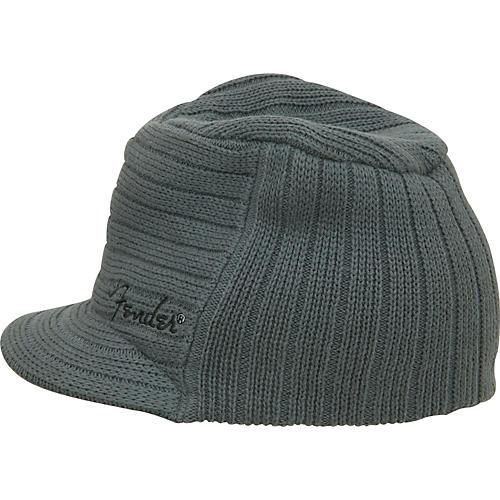 Fender Knit Ribbed Military Hat-thumbnail