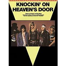 Music Sales Knockin' On Heaven's Door Music Sales America Series Performed by Guns N' Roses