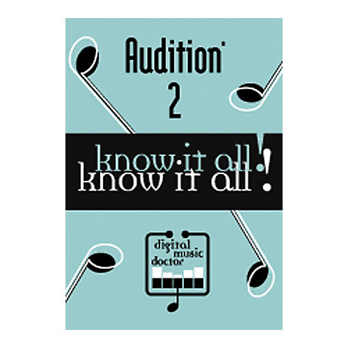 Digital Music Doctor Know It All - Audition 2 DVD
