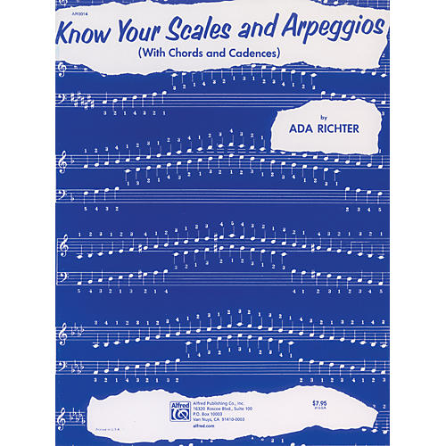 Alfred Know Your Scales and Arpeggios Piano
