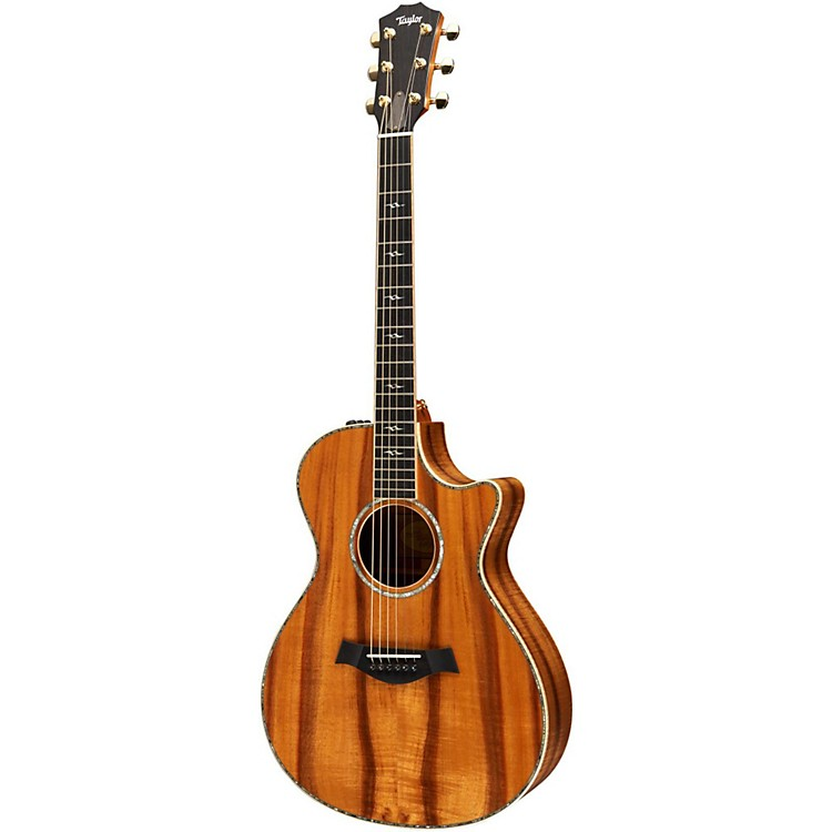 Taylor Koa Series K22ce Grand Concert Acoustic-Electric Guitar (2011 Model) Natural