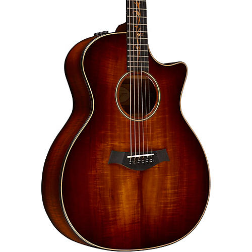 Taylor Koa Series K24ce Grand Auditorium Acoustic-Electric Guitar-thumbnail