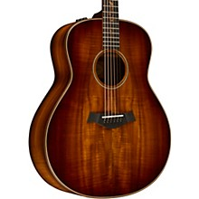 Taylor Koa Series K28e Series Grand Orchestra Acoustic-Electric Guitar Shaded Edge Burst