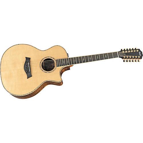 Taylor Koa Series K54ce 12-String Jumbo Acoustic-Electric Guitar-thumbnail