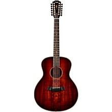Koa Series K66 Koa Grand Symphony 12-String Acoustic Guitar Shaded Edge Burst