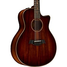 Taylor Koa Series K66ce Grand Symphony Acoustic-Electric 12-String Guitar Shaded Edge Burst