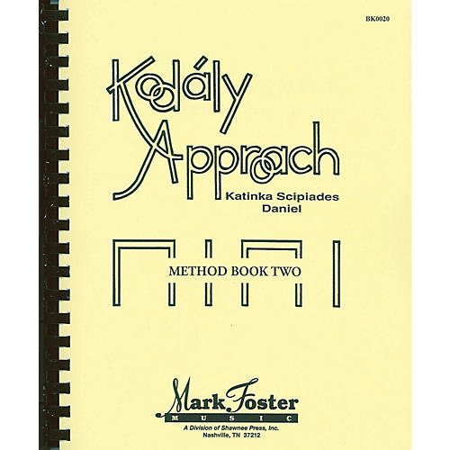 Shawnee Press Kodály Approach (Method Book Two - Textbook) Book-thumbnail