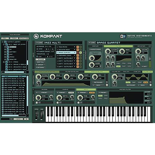 Native Instruments Kompakt Sampler Software