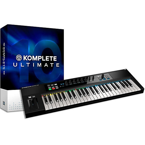 Native Instruments Komplete 10 Ultimate And Kontrol S49 Keyboard Bundle-thumbnail