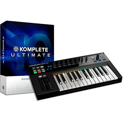 Native Instruments Komplete 10 Ultimate and Kontrol S25 Keyboard Bundle