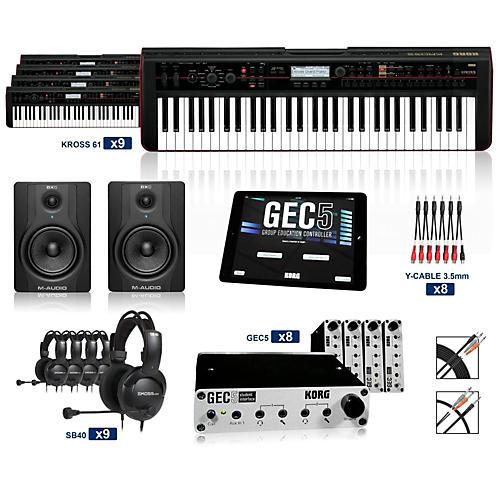 Korg Korg B1 Digital Piano Lab Split (16 Students plus Teacher)