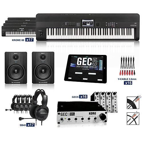 Korg Korg Krome 88  Keyboard Lab (16 Students plus Teacher)-thumbnail