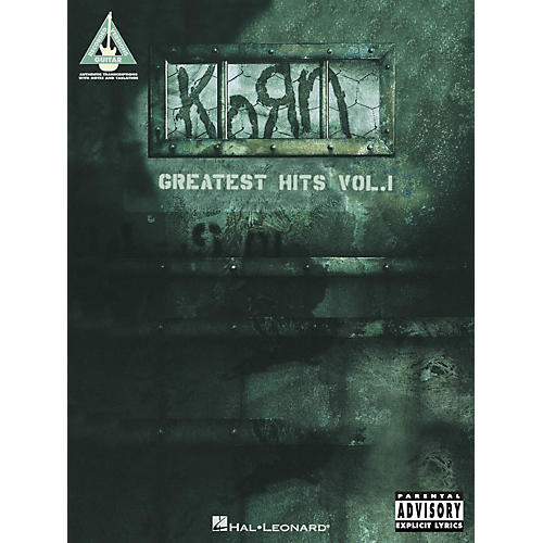 Hal Leonard Korn Greatest Hits Volume 1 Guitar Tab Songbook