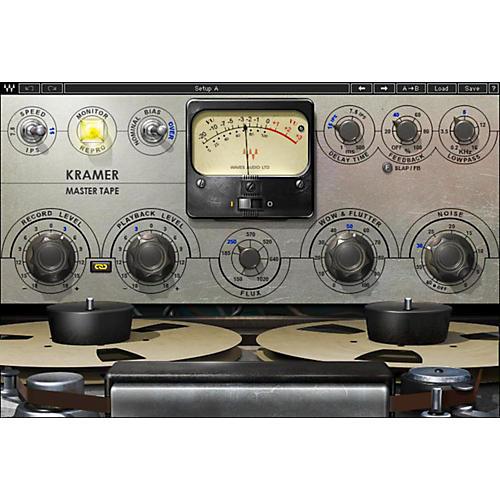 Waves Kramer Master Tape Native/TDM/SG Software Download-thumbnail