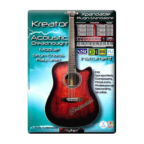 AudioWarrior Kreator LE Acoustic Guitar Auto-Strumming