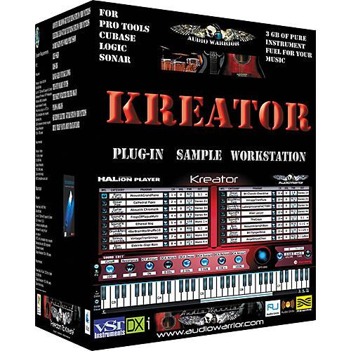 AudioWarrior Kreator Plug-In Sample Workstation