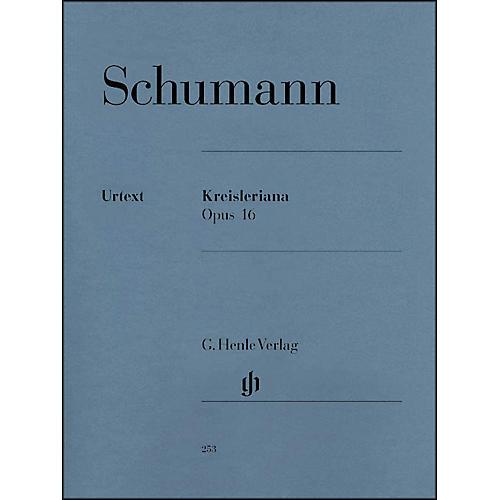 G. Henle Verlag Kreisleriana Opus 16 By Schumann-thumbnail