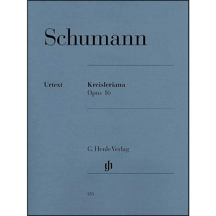 G. Henle VerlagKreisleriana Opus 16 By Schumann