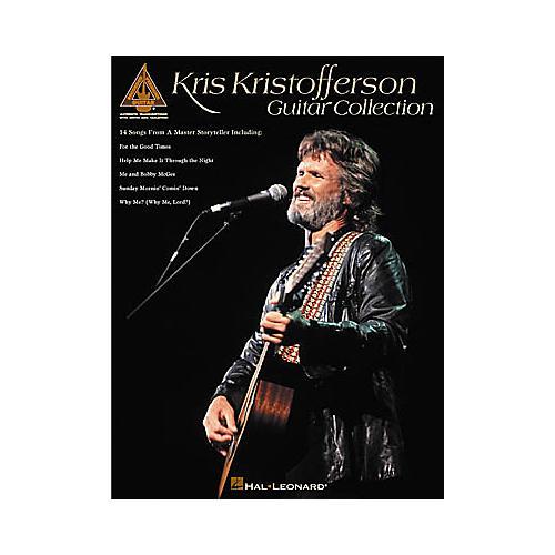 Hal Leonard Kris Kristofferson Guitar Collection Book