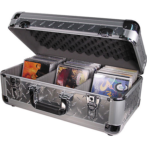 Odyssey Krom 200/65 CD Case Diamond Plate