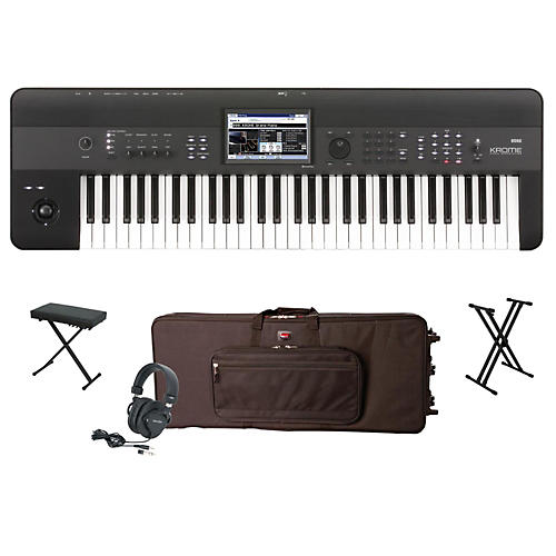 Korg Krome 61-Key Workstation Package 1