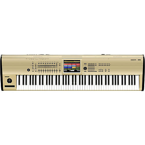 Korg Kronos 88-Key Music Workstation in Limited Edition Gold-thumbnail