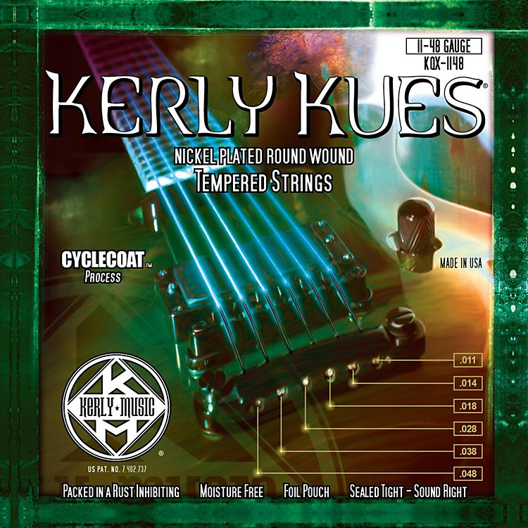 Kerly MusicKues Nickel Wound Electric Guitar Strings - Heavy
