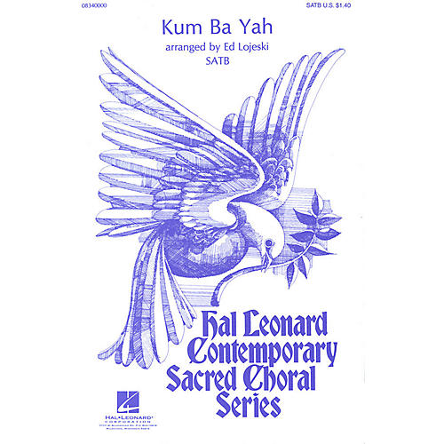Hal Leonard Kum Ba Yah SATB arranged by Ed Lojeski-thumbnail