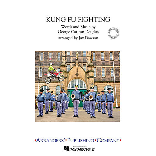 Arrangers Kung Fu Fighting Marching Band Level 3 Arranged by Jay Dawson-thumbnail