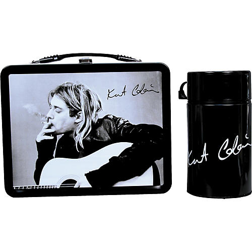 Neca Kurt Cobain 2006 Lunchbox with Drink Container