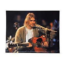 C&D Visionary Kurt Cobain Playing Sticker