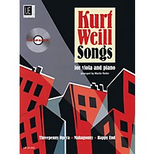 Universal Edition Kurt Weill Songs String Solo Series Softcover with CD