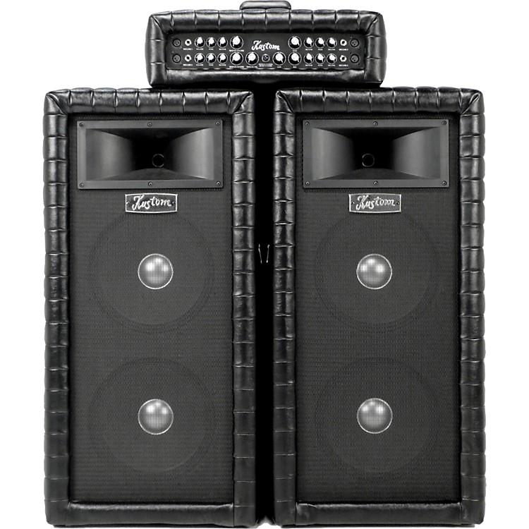 KustomKustom Tuck N Roll Dual 12 PA Package Black