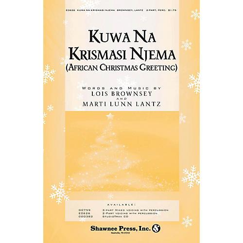 Shawnee Press Kuwa Na Krismasi Njema (African Christmas Greeting) 2-Part composed by Marti Lunn Lantz-thumbnail