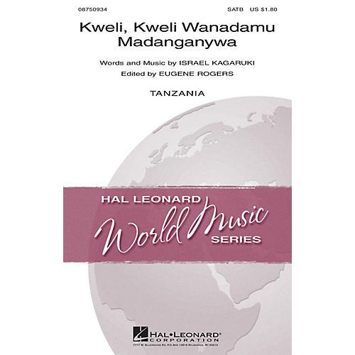 Hal Leonard Kweli, Kweli Wanadamu Madanganywa SATB composed by Israel Kagaruki-thumbnail