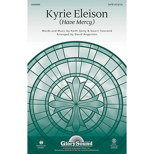 Shawnee Press Kyrie Eleison (Have Mercy) Studiotrax CD Arranged by David Angerman-thumbnail