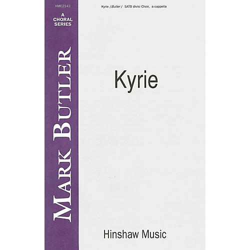 Hinshaw Music Kyrie SSAATTBB composed by Butler